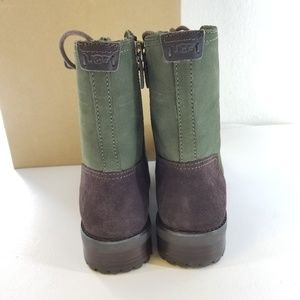 UGG Shoes - UGG W Kilmer Green Military Suede Boots Sz 9 M
